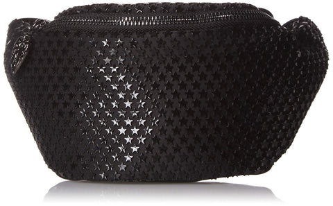 Betsey Johnson Look at The Stars Belt Bag, black