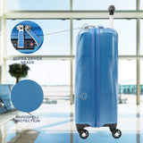 Travelpro Maxlite 5 Carry-on Spinner Hardside Luggage, Azure Blue