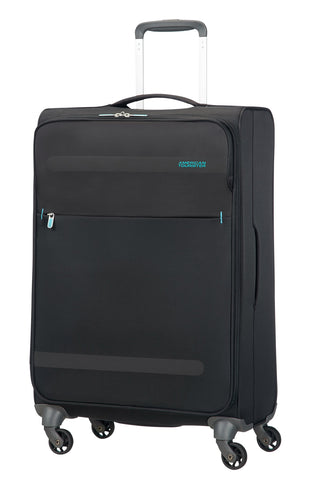 American Tourister Suitcase, VOLCANIC BLACK