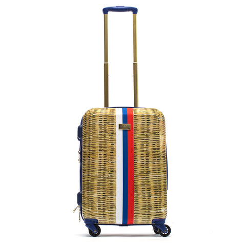 Macbeth Nauti Provence 21in Rolling Luggage Suitcase, Tan