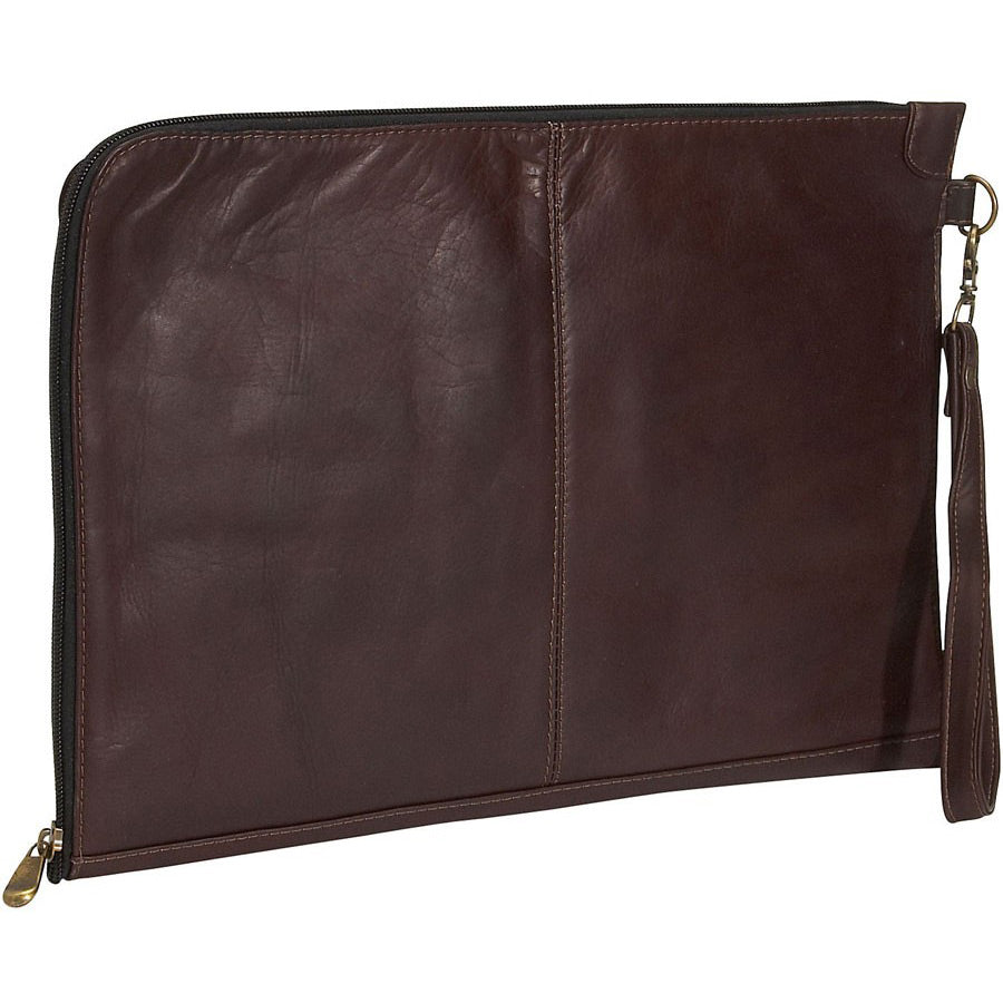 David King Letter Size Leather Envelope Portfolio
