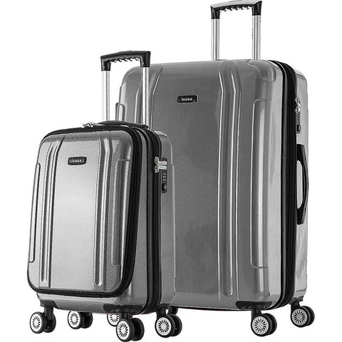 "Inusa Southworld 19"" & 27"" 2-Piece Hardside Spinner Luggage Set"