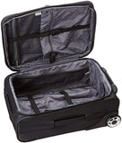 Delsey Luggage Helium Sky, Black, One Size