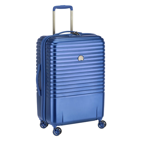 DELSEY PARIS Caumartin Plus Suitcase 66 centimeters 62 Blue (Azul)