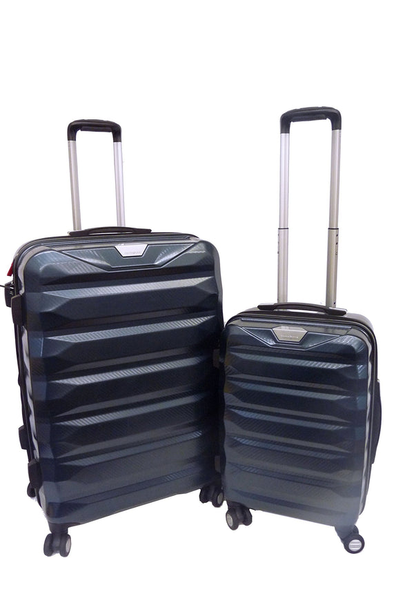 "Samsonite Flylite DLX 2 Piece 20"" & 28"" Hardside Spinner Luggage Suitcase Set"