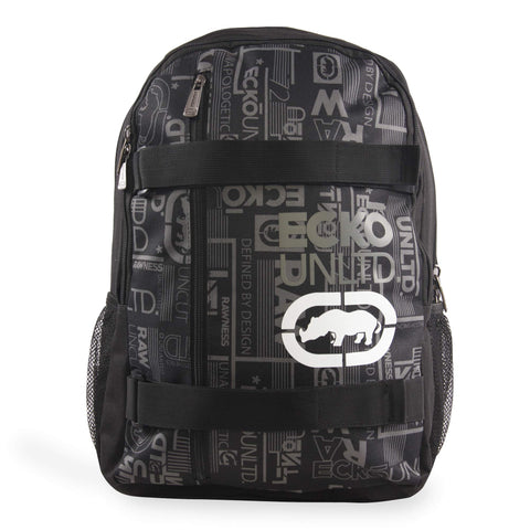 Ecko Unltd. Ecko Real Laptop Backpack, Black, One Size