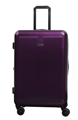 "Revo Luna Expandable Hardside Spinner, 26"", Purple"
