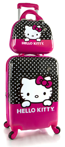 "Heys America Unisex Hello Kitty 21"" Spinner & Beauty Case Pink One Size"