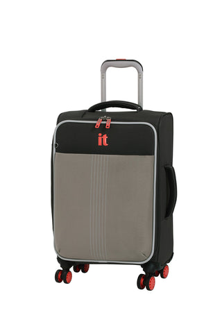 "it luggage 21.5"" Filament 8-Wheel Carry-on, Grey Rhapsody"