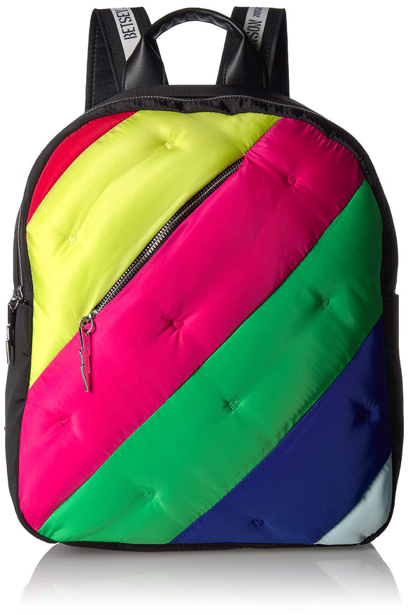 Betsey Johnson Prismatic Fanatic Large Backpack, Rainbow
