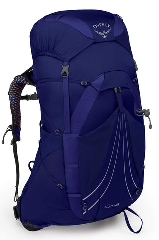 Osprey Packs Eja 48 Women's Backpacking Pack, Equinox Blue, Small