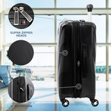 Travelpro Maxlite 5 Expandable Carry-on Spinner Hardside Luggage, Black