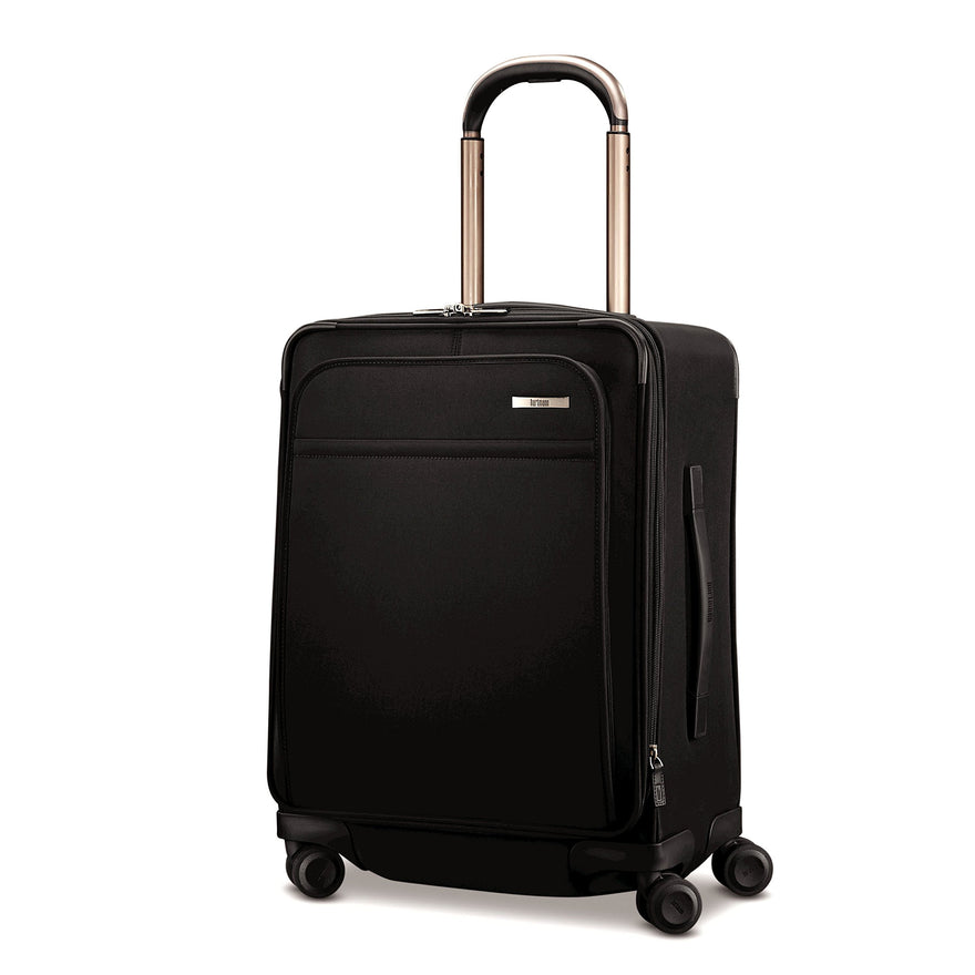"Hartmann Metropolitan 21"" Domestic Carry-On Expandable Spinner (DEEP BLACK)"