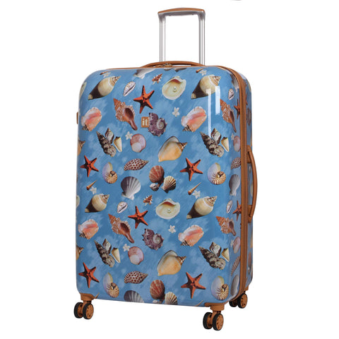IT Luggage Virtuoso 32-Inch Hardside Spinner (Sea Shell Repeat Print/Almond Print)