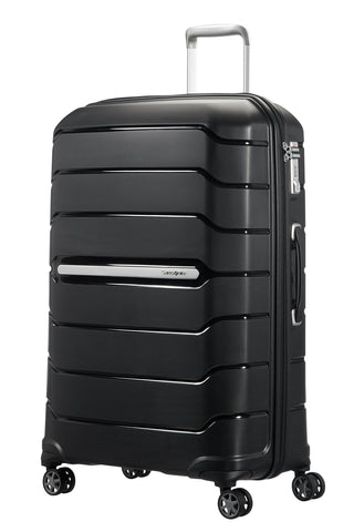 SAMSONITE Flux - Spinner 75/28 Expandable Hand Luggage, 75 cm, 121 liters, Black