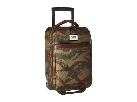 Burton Men's Wheelie Flyer Travel Luggage Brushstroke Camo One Size