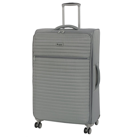 "it luggage 31.3"" Quilte Lightweight Expandable Spinner, Flint Grey"