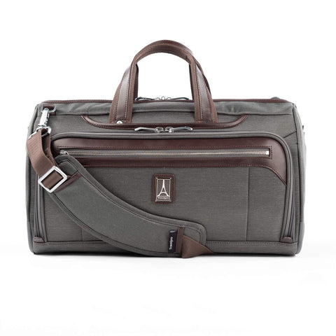 Travelpro Platinum Elite Regional UnderSeat Duffel Bag, Vintage Grey, medium