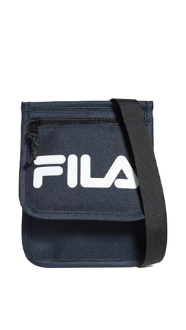Fila Men's Writer Neck Pouch, Peacoat, Blue, Graphic, One Size
