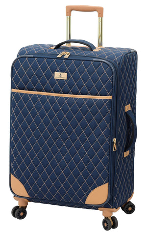 "London Fog Queensbury 24"" Spinner, Navy"