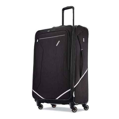 American Tourister Checked-Large, Black/White