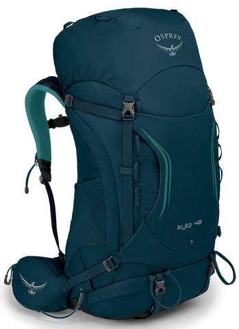 Osprey Packs Kyte 46 Women's Backpack, Ice Lake Green, WX/Small