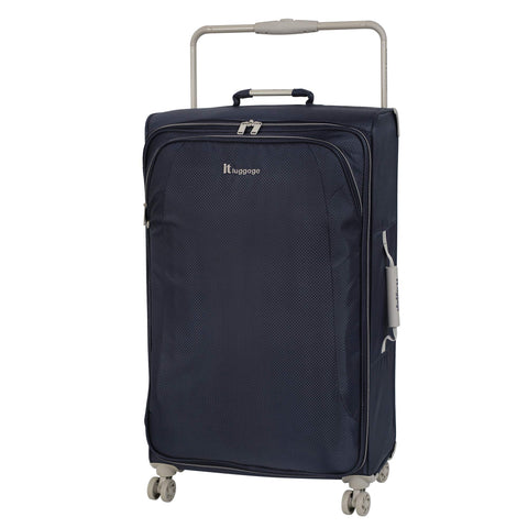 "IT Luggage 31.5"" World's Lightest 8 Wheel Spinner, Magnet With Cobblestone Trim"