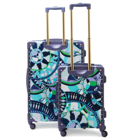 MacBeth Sailing Serafina 2pc Luggage Set, Navy