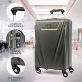 Travelpro Maxlite 5 Carry-on Spinner Hardside Luggage, Slate Green