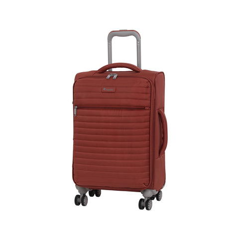 "it luggage 21.5"" Quilte Lightweight Carry-on, Burnt Brick"
