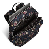 Vera Bradley Iconic Campus Backpack, Performance Twill, Garden Dream