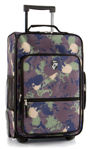 "Heys America kids Softside 18"" Upright Carry-On Wheeled Luggage (Camo)"