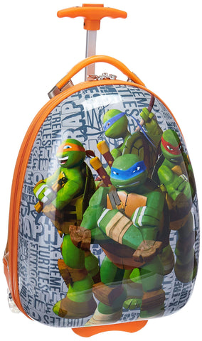 Heys America Unisex Nickelodeon TMNT Kids Luggage Orange Carry On