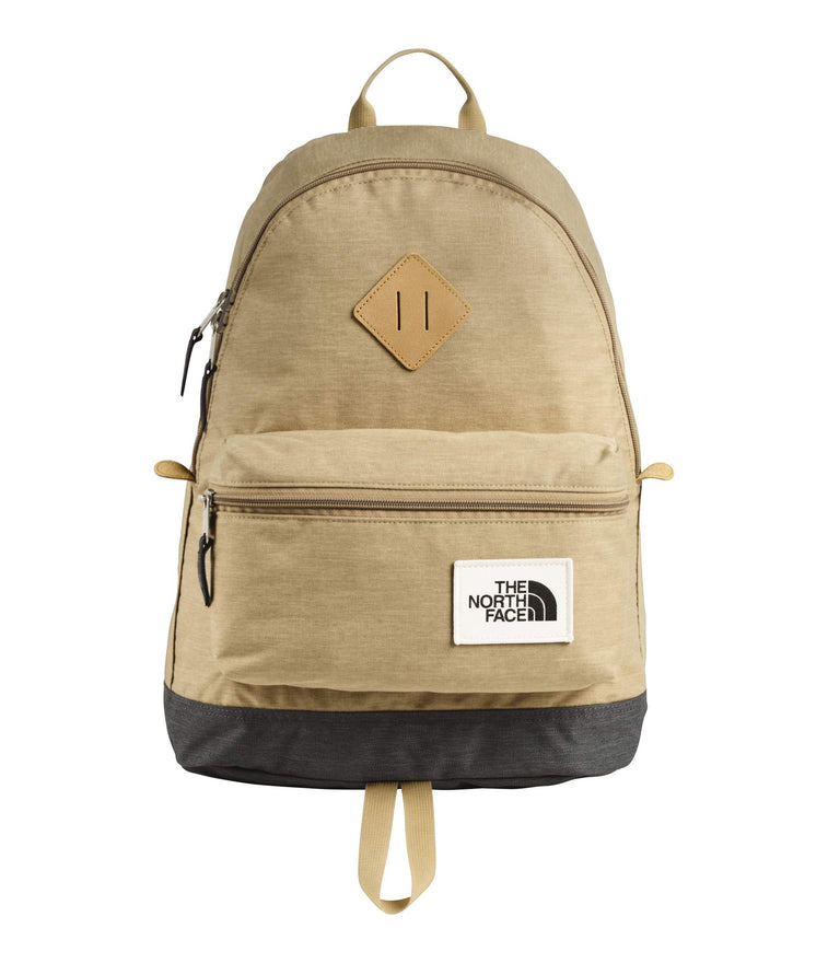 The North Face Mini Berkeley Backpack, Kelp Tan Dark Heather/Asphalt Grey Light Heather