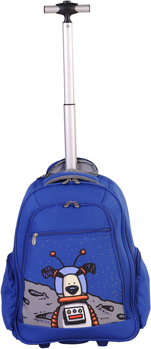 Ed Heck Moon Dog Wheeled Backpack