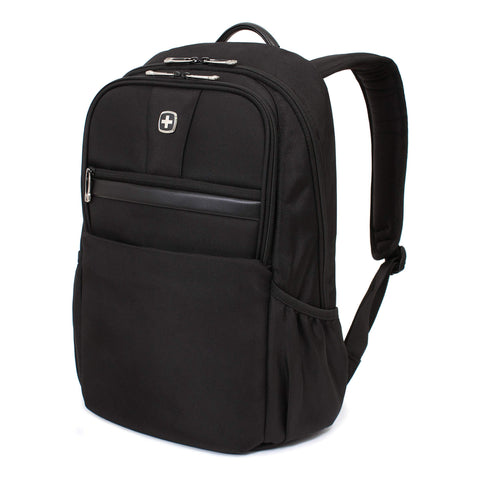 SWISSGEAR Durable 15-inch Laptop Backpack | Padded Computer Sleeve | Travel, Work, School | Men's and Women's - Black