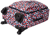 Kipling Women's Darcey Small Carry-On Rolling Luggage, Forever Tiles