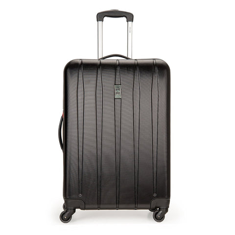 Delsey Luggage Volume DLX Hardside 25 Inch Expandable Spinner Luggage (Black)