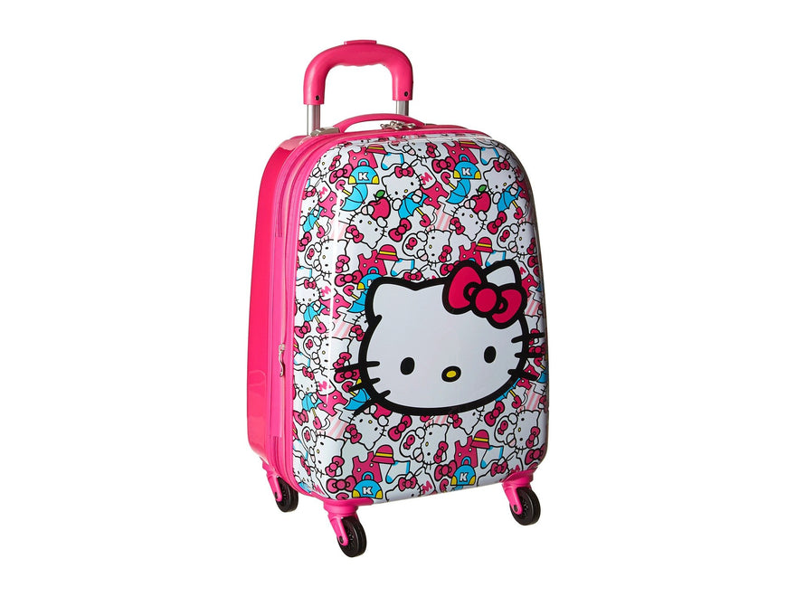 Heys America Unisex Hello Kitty Tween Spinner Luggage Pink One Size