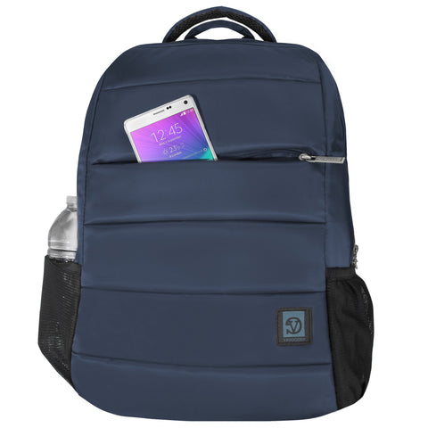 Vangoddy Navona Double Padded Big Student Classics Backpack for Toshiba Tecra A C W Z Series 14 15.6, Satellite S Series