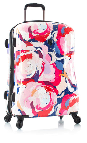"Heys America Spring Blossom Fashion 21"" Carry-On Spinner Luggage With TSA Lock"