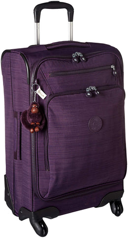 Kipling Unisex-Adult's YOURI Spin 55 Dazz Purple Small Wheeled Luggage, DAZZPURPLE