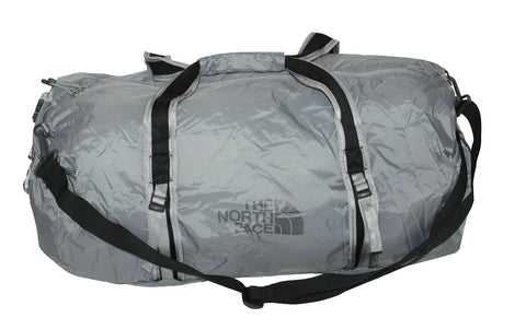 The North Face Unisex Basic Zip FLYWEIGHT DUFFEL L (Mid grey)