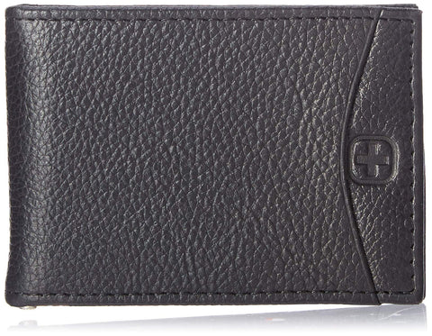 SwissGear Men's Slimfold Money Cip, Black
