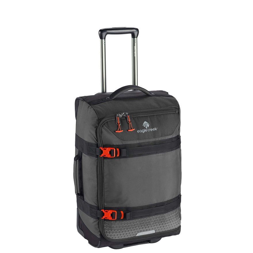 Eagle Creek Expanse Wheeled Rolling Duffel Carry-On Bag, Stone Grey