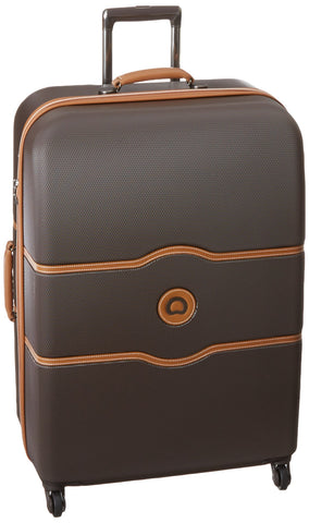 DELSEY Paris Checked-Large, Chocolate Brown