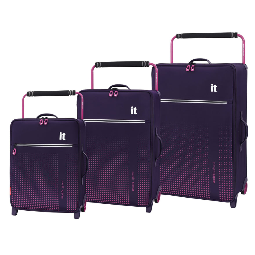 it luggage World's Lightest Vitalize 2-Wheel, Gothic Grape