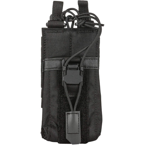 5.11 Tactical Comapct, Lightweight Flex Radio Pouch, Style # 56428, Black
