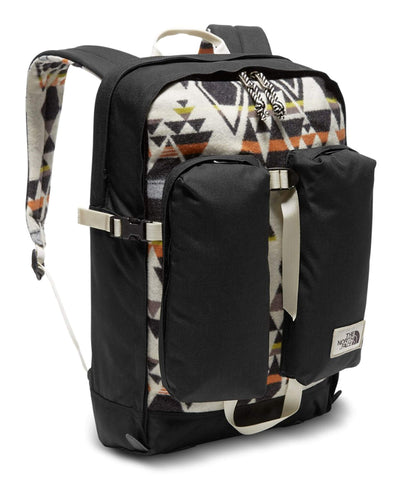The North Face Unisex Pendleton Crevasse Backpack (Vintage White print)