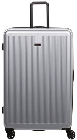 "Revo Luna Expandable Hardside Spinner, 32"", Silver"